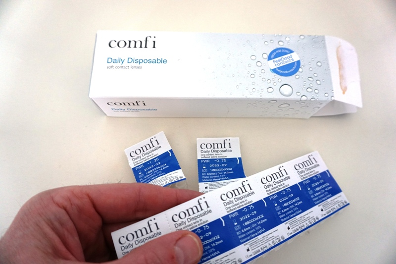 review of comfi contact lenses
