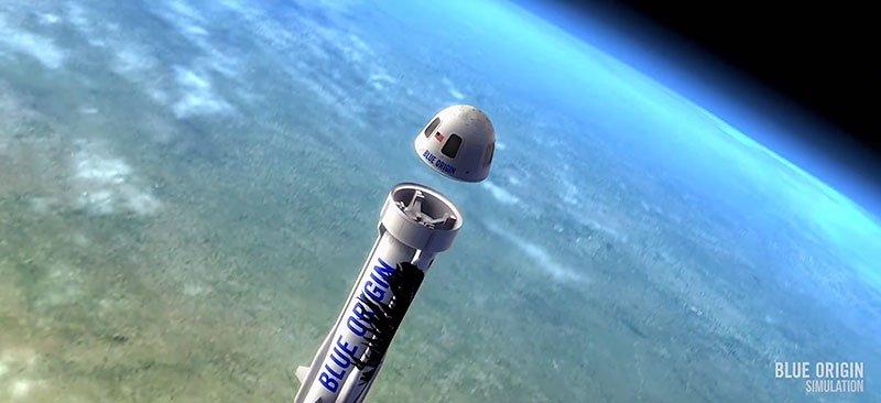 Blue Origin Rocket Amazon