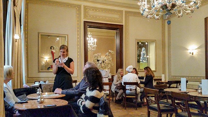Das Cafe Demel in Wien