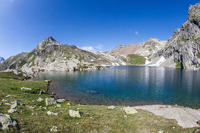 Der Lägh dal Lunghin in Graubünden