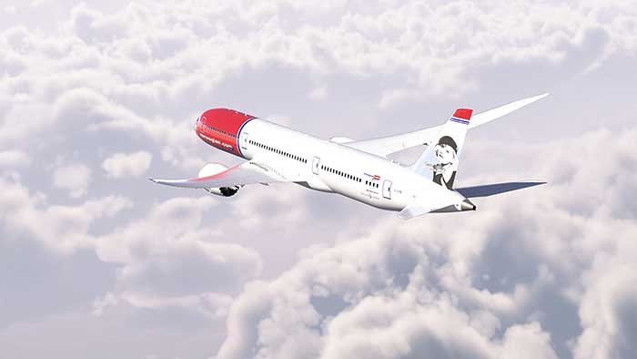 Norwegian was awarded 'Airline of the Year'