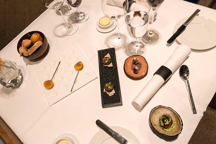 Restaurant Aqua im The Ritz-Carlton Wolfsburg Menue