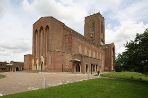 Guildford Cathedral, by stevecadman (Flickr), CC BY-NC-SA