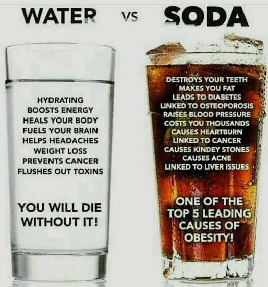 Water v's Cola, Quit Cola