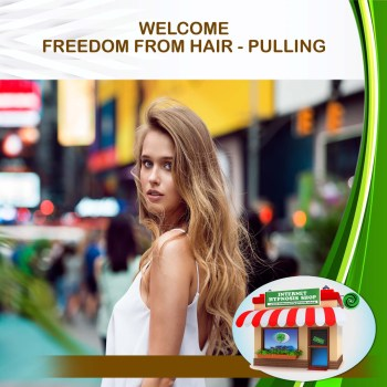 FREEDOM FROM HAIR - PULLING min