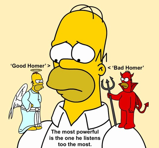 Good:Bad Homer
