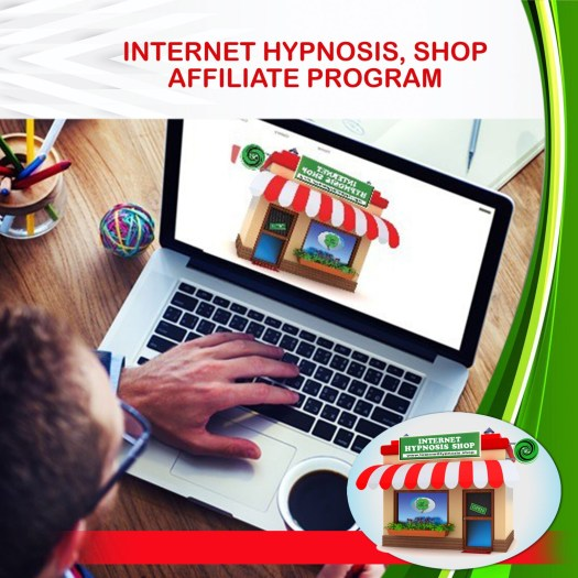 Join Internet Hypnosis. Shop Affiliate Program
