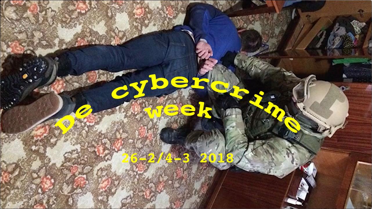 cybercrime week 26-3-2018