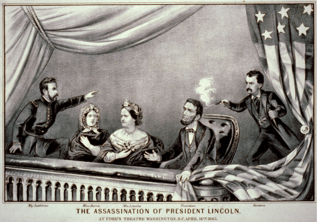 The Assassination of President Lincoln.