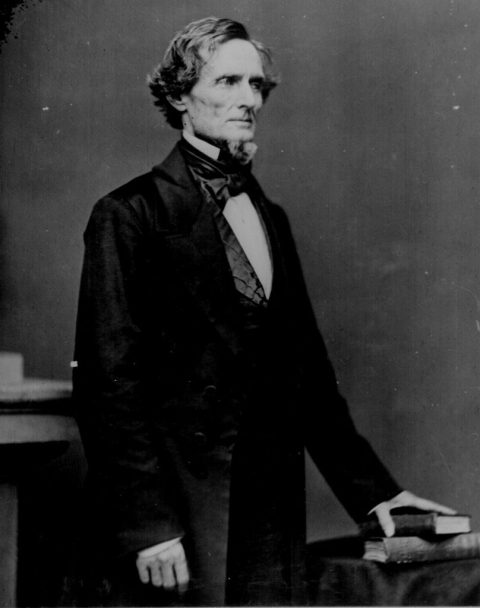 Jefferson Davis, President of the Confederacy.