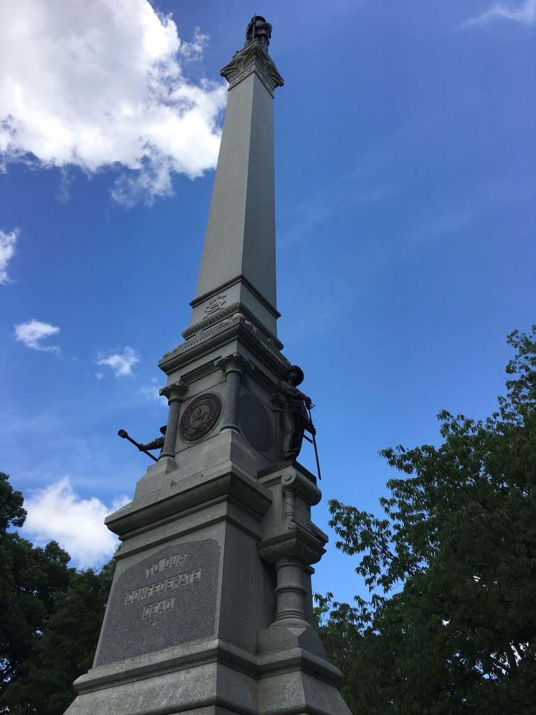 "The North Carolina State monument ""To Our Confederate Dead"". - <i>Photo by the Author</i>"