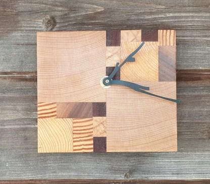 klokje, mondriaan, hout, kunst