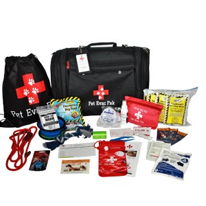Pet Evac Emergency Survival kit for small dogs
