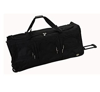 """30"""" Roller Duffle bag with 2 zipper compartments"""