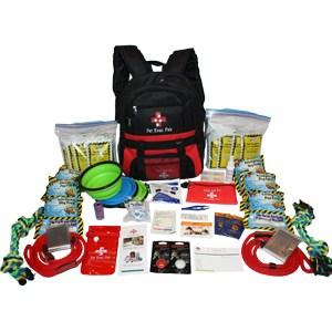 2-Big Dog Emergency Survival Kit for earthquakes, fires, flood, hurricanes, tornados