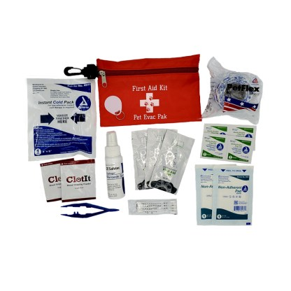 Pet First Aid Kit Pet Vet, Clotit, PetFlex