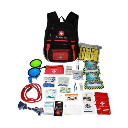 Pet Evac Small/Medium Dog Pak 5- year shelf life, emergency kit, 72 hours, earthquake, fire, hurricane