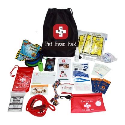 Small Dog Emergency Survival kit, Pet Earthquake Kit