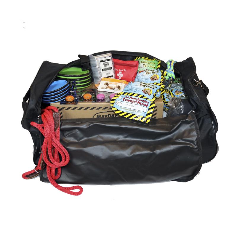 Custom Pack, pet Evacuation Pak,