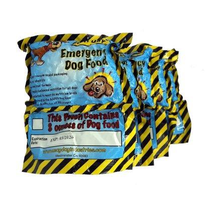 Mayday Emergency Dog Food Ration 5 pack