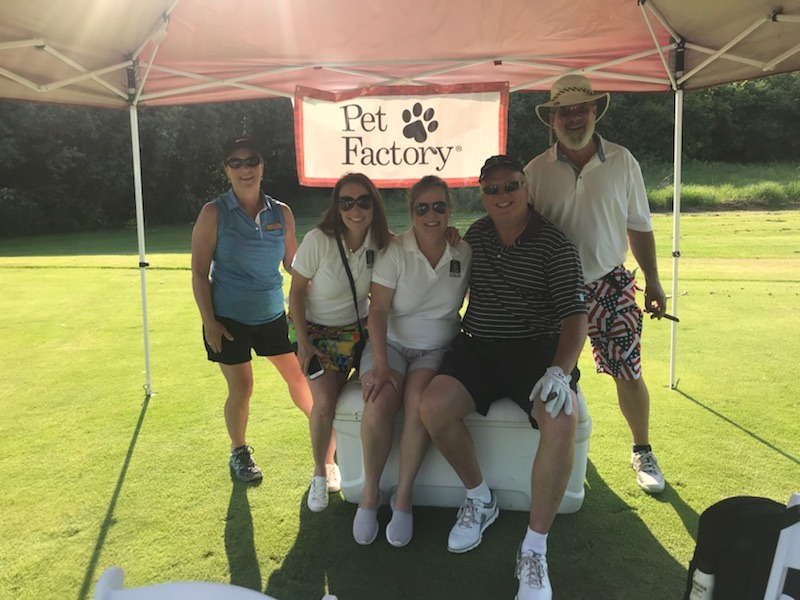 Great day of golf ⛳️ and friends at the 8th Annual Golf Outing in support of Mothers Trust Foundation! Pet Factory is a proud Event Sponsor.