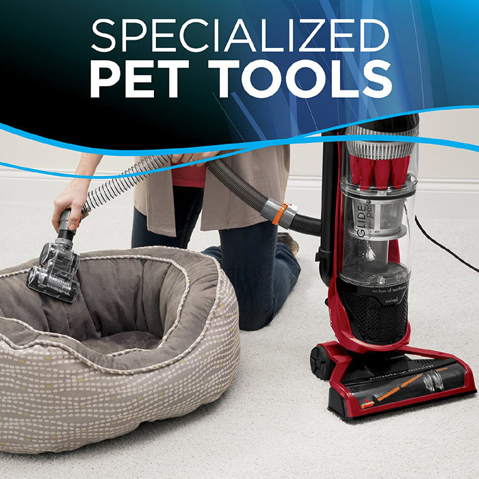 Bissell PowerGlide Pet Vacuum Capacity