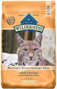 Blue Buffalo Wilderness High Protein Grain Free, Natural Adult Weight Control Dry Cat Food