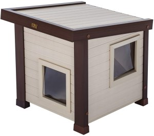 New Age Pet Ecoflex Albany Outdoor Feral Cat House