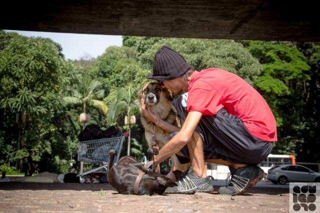 moradores de rua e seus cães 8