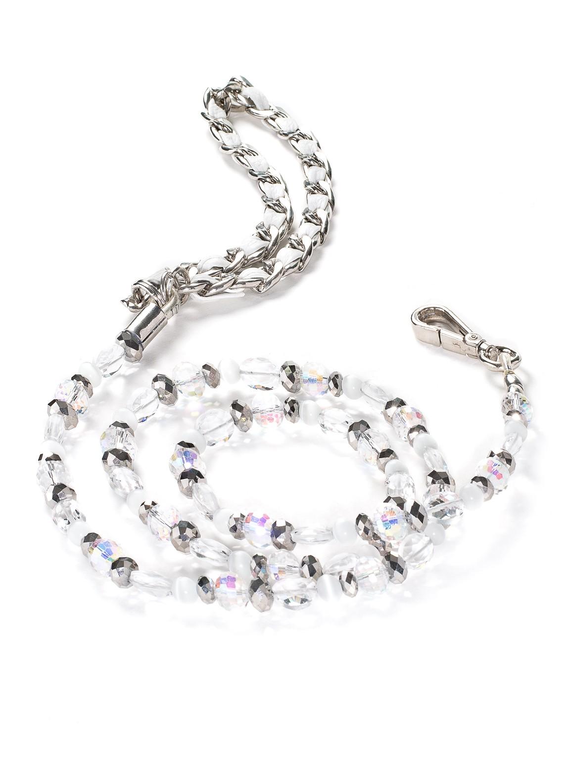 Fabuleash 5th Avenue Crystal Beaded Leash