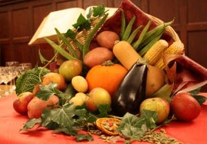 vegetables thanksgiving