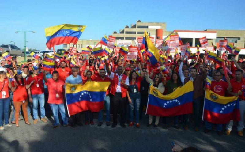 Trabalhadores contra a agressão imperialista