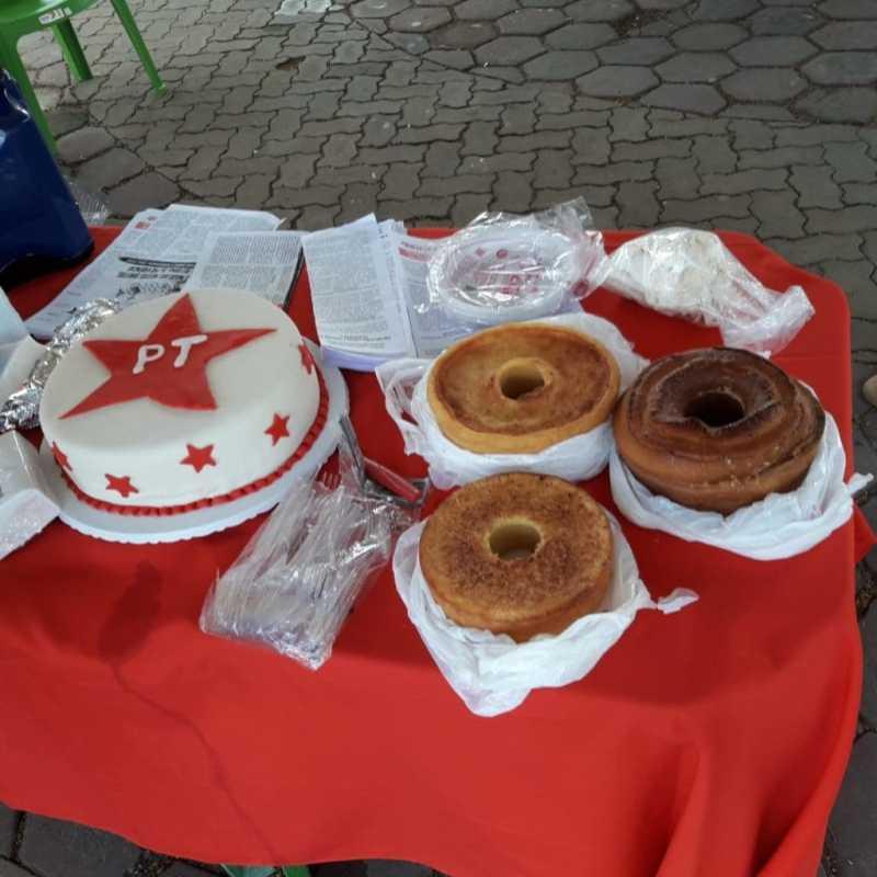 39 anos do PT em Amargosa/BA com bolos