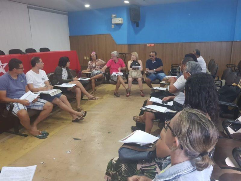 discussão na Plenária de Maceió