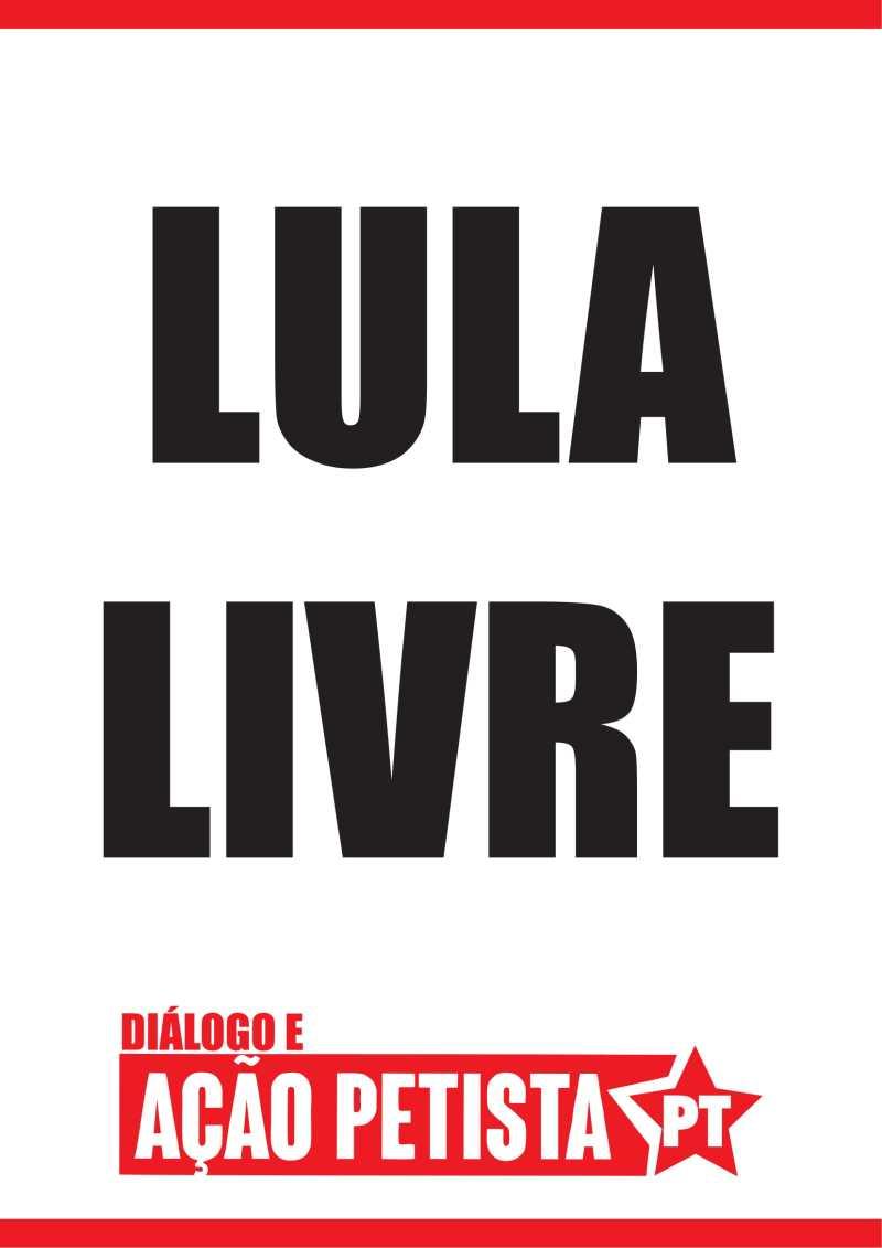 Lula Livre (Verso)