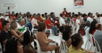 Plenário do Encontro Estadual do DAP Bahia