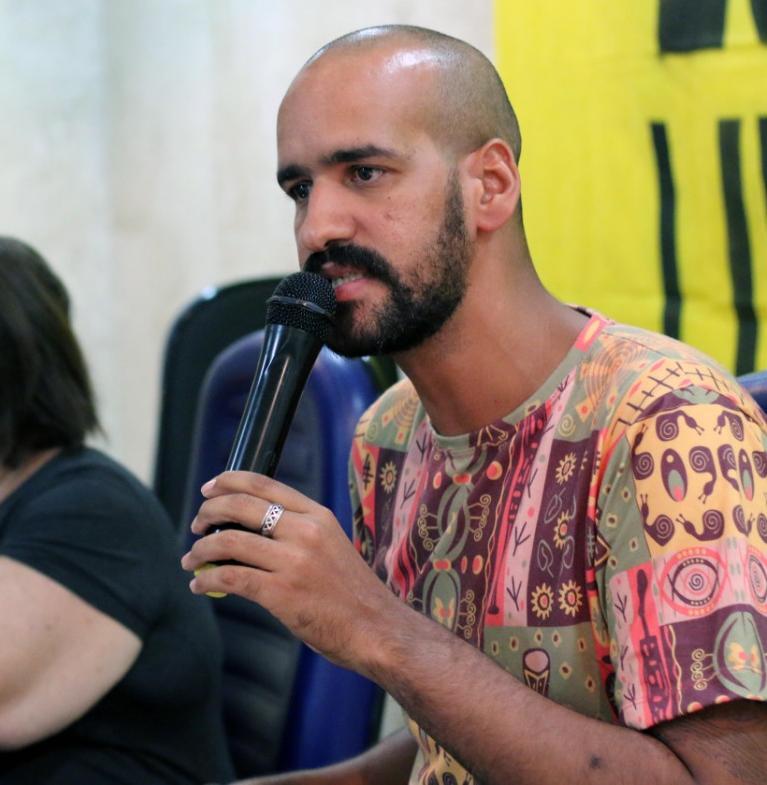 Joelson Souza, militante da causa negra
