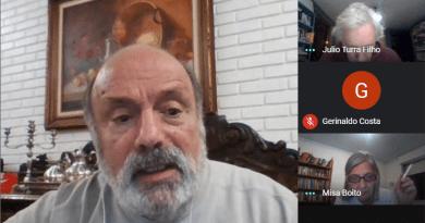 Greenhalgh fala na Plenária Nacional Virtual do DAP