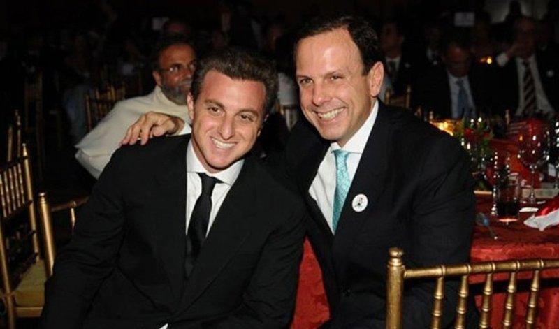 Doria e Luciano Huck