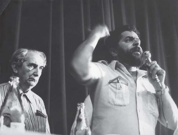 Mário Pedrosa e Lula