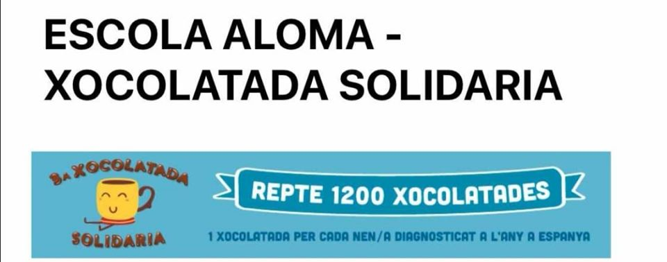 XOCOLATADA SOLIDÀRIA 2020