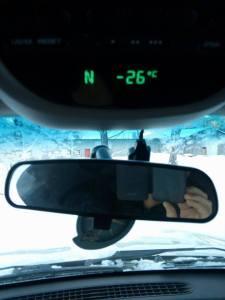 Froid: température -26°