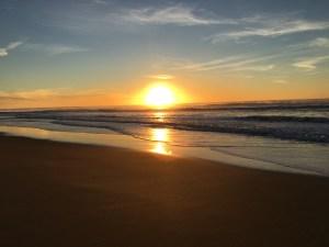 Plages Grand Crohot splendide coucher de soleil