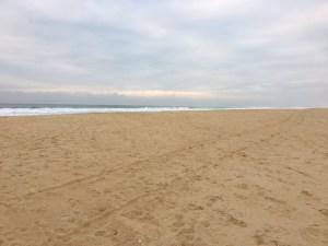 L'océan plage à droite