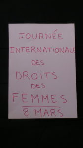 Femmes: journée internationale