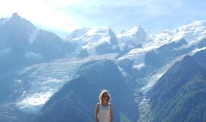 Chamonix, parc de Merlet sous le soleil