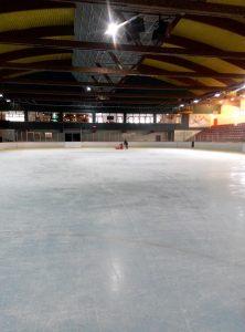 seules au monde à la patinoire