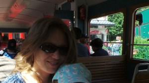 Chamonix, dans le Petit Train