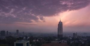 Education, routes impraticables avec poussette Nairobi