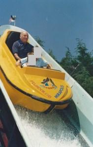 Grands-Parents, Papy dans les rapides!